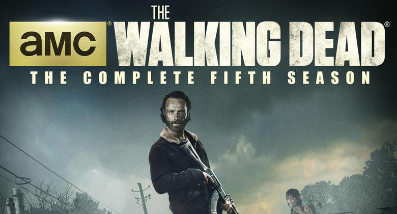 Anunciada a data de lançamento do DVD e Blu-Ray da 5ª temporada de The Walking Dead nos EUA