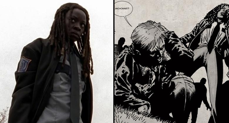 Comparação SÉRIE vs HQ: The Walking Dead S05E15 –