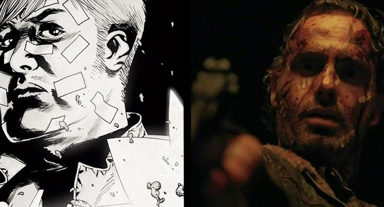 Comparação SÉRIE vs HQ: The Walking Dead S05E16 –