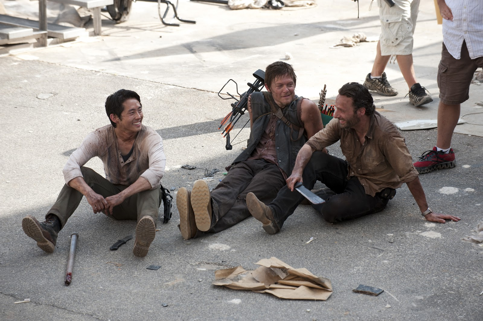 glenn-daryl-rick-the-walking-dead-