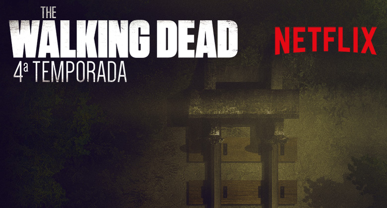 4ª Temporada de The Walking Dead chega ao Netflix Brasil