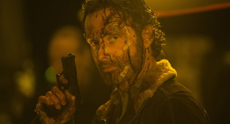 Andrew Lincoln fala sobre o surpreendente final da 5ª temporada de The Walking Dead