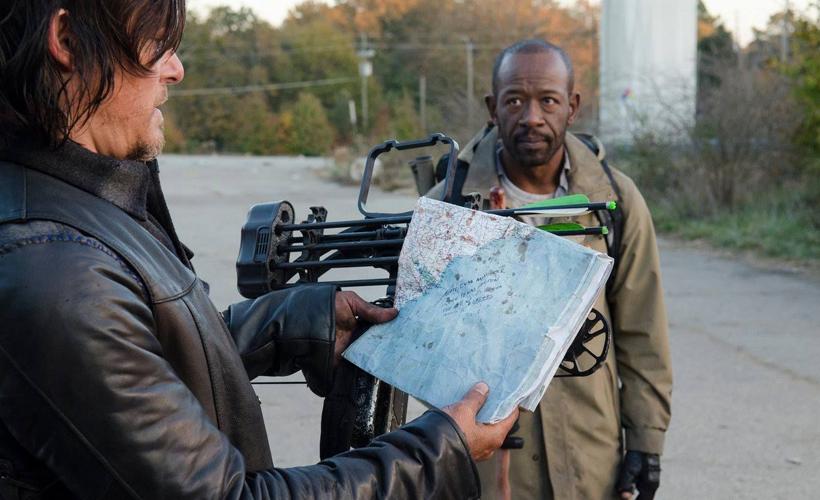 Rick e Morgan revertem os papéis em The Walking Dead