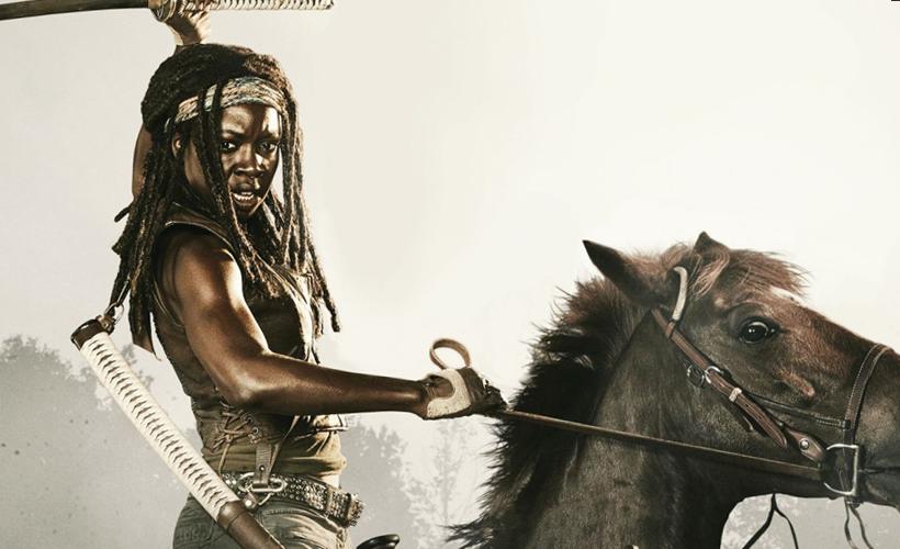 TOP 5 The Walking Dead - Os melhores momentos de Michonne