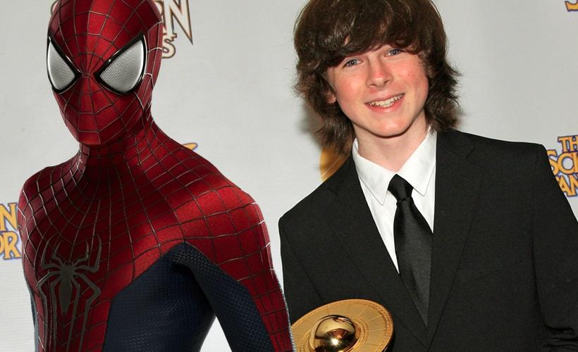 Chandler Riggs participou de teste para viver o novo Homem-Aranha