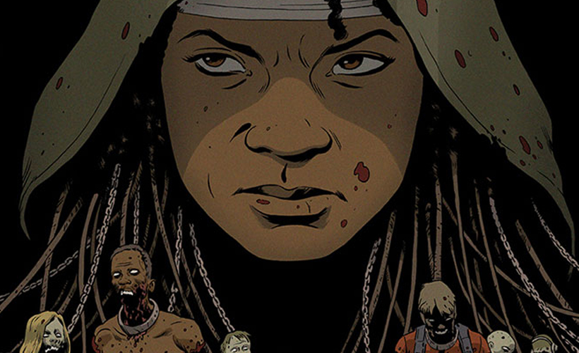 Capa alternativa da Edição 1 da HQ de The Walking Dead exclusiva da Wizard World Sacramento 2015