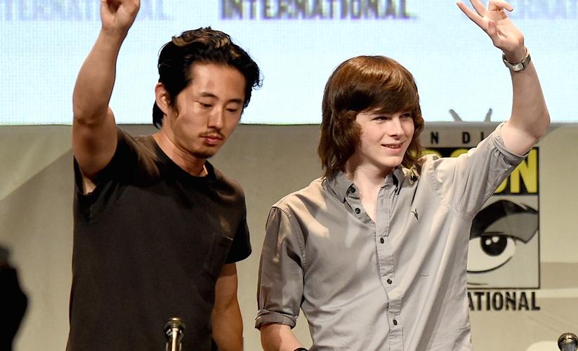 Chandler e Steven Yeun
