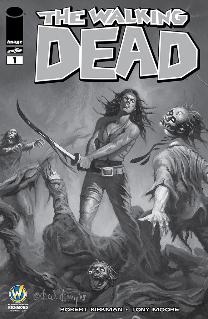 the-walking-dead-1-wizard-world-richmond-preto-e-branco-2015