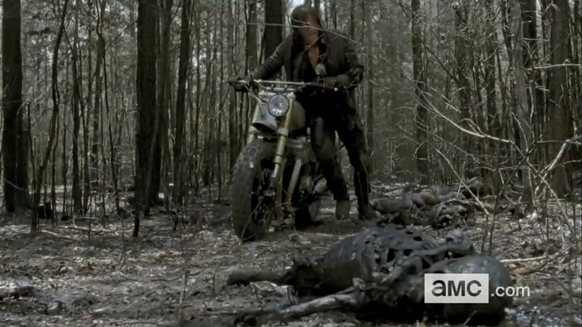 Daryl Dixon Alone