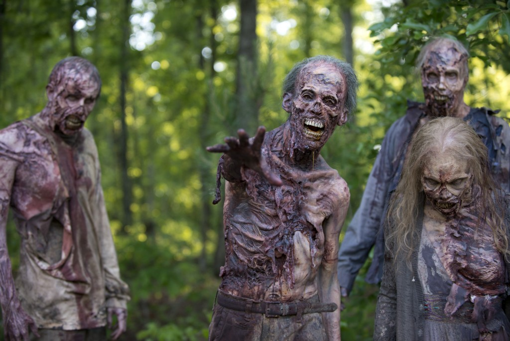 Walkers - The Walking Dead _ Season 6, Episode 1 - Photo Credit: Gene Page/AMC