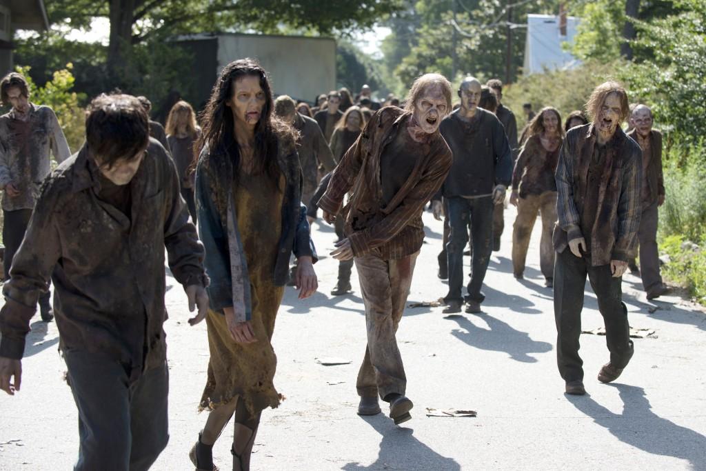 Walkers - The Walking Dead _ Season 5, Episode 5 - Photo Credit: Gene Page/AMC
