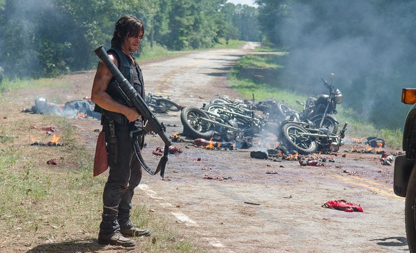 Retorno de The Walking Dead causa denúncia de tiroteio à polícia