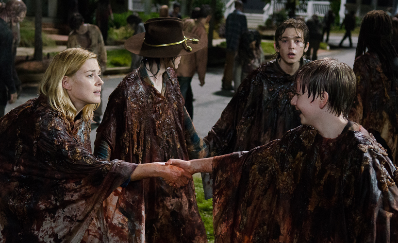 The Walking Dead S06E09: Alexandra Breckenridge fala do