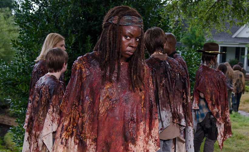 The Walking Dead S06E09: Danai Gurira fala sobre o que aconteceu com Carl e o papel de Michonne