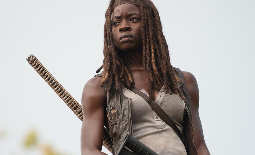 The Walking Dead S06E10: Danai Gurira fala sobre o novo supercasal da série