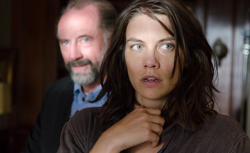 Lauren Cohan fala sobre a negociação de líderes entre Maggie e Gregory e os planos para o novo mundo