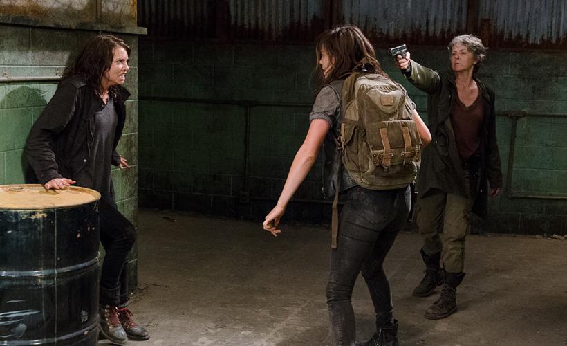 Melissa McBride já não sabe quem são os mocinhos em The Walking Dead