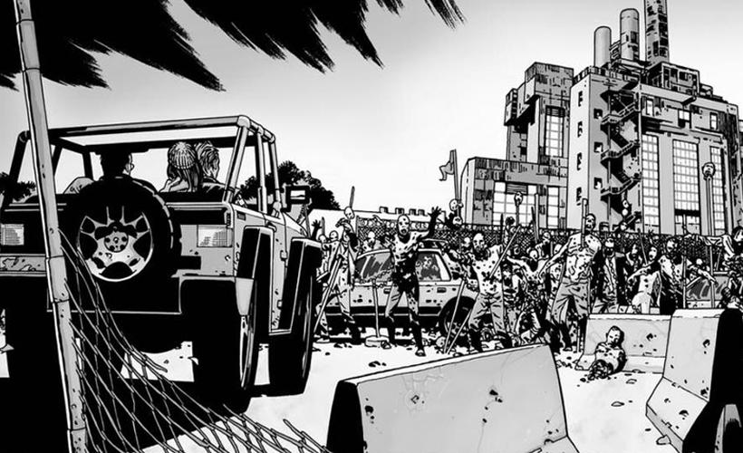 The Walking Dead 7ª temporada: Primeiras imagens do Santuário