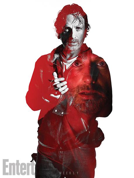 Andrew Lincoln as Rick Grimes- The Walking Dead _ Season 7, Gallery - Photo Credit: Frank Ockenfels 3/AMC