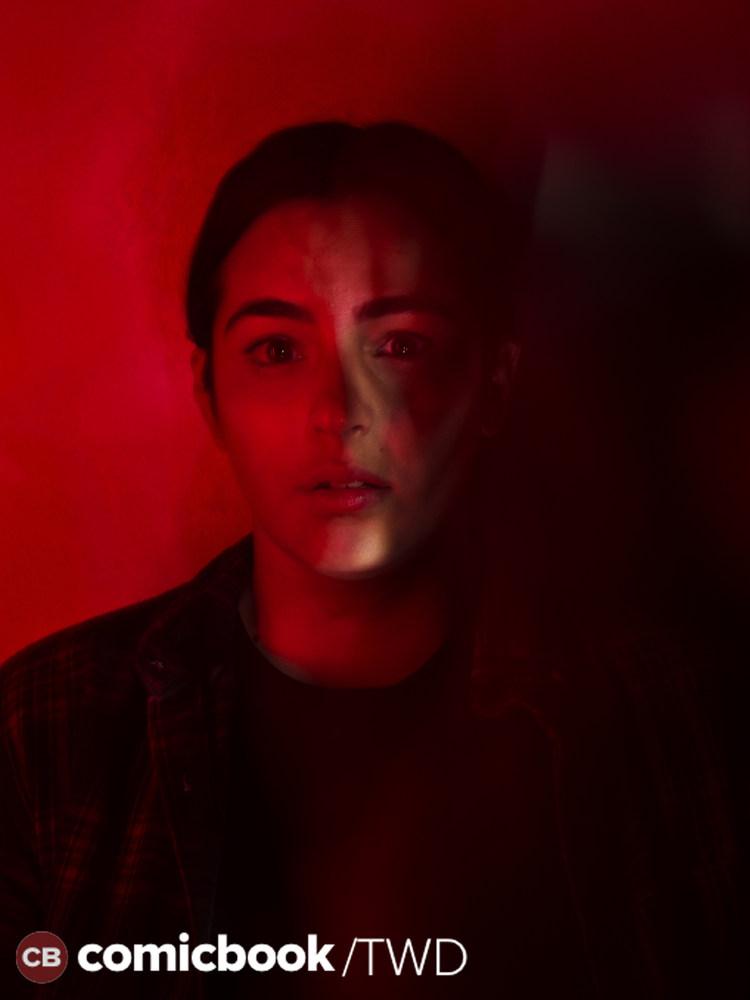 Alanna Masterson as Tara Chambler- The Walking Dead _ Season 7, Gallery - Photo Credit: Frank Ockenfels 3/AMC