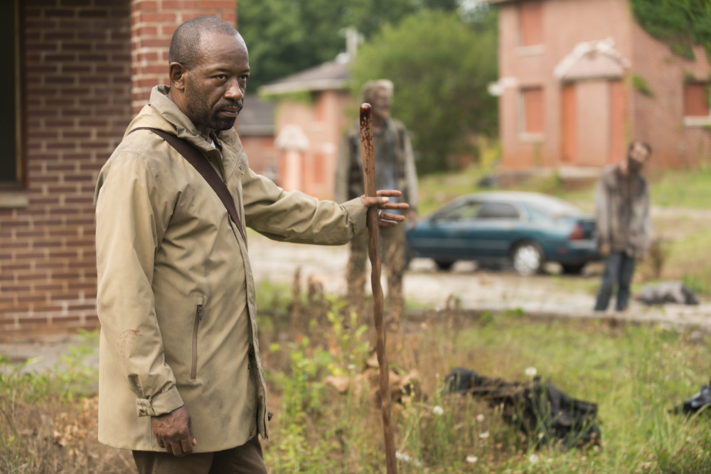 Lennie James como Morgan Jones | Episódio 3 - The Walking Dead 7ª Temporada