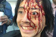 Veja como foi o processo de criação da sangrenta maquiagem da morte de Glenn em The Walking Dead