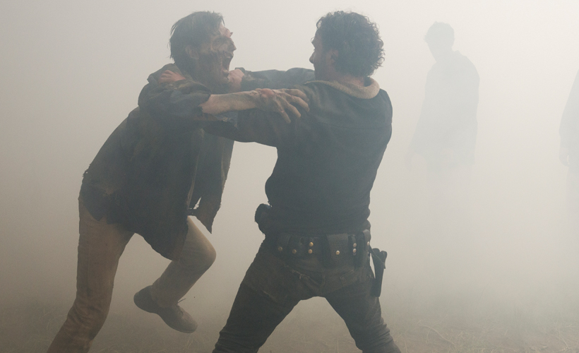 The Walking Dead 7ª Temporada: Storyboards do episódio 1