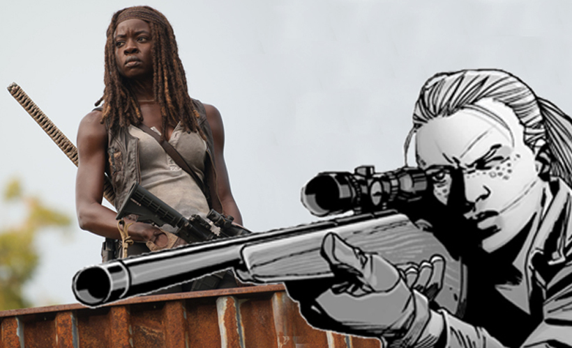 Danai Gurira fala sobre Michonne assumir o papel de uma personagem-chave da HQ de The Walking Dead