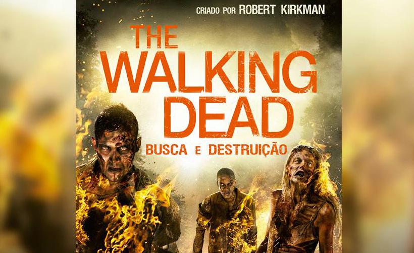 The Walking Dead: Busca e Destruição | Capa e informações do sétimo livro da saga