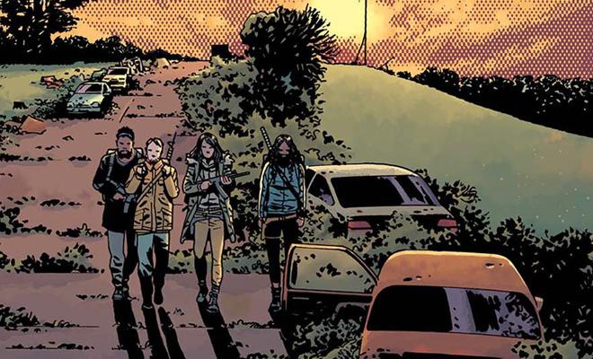 The Walking Dead 170: Arte da capa e data de lançamento