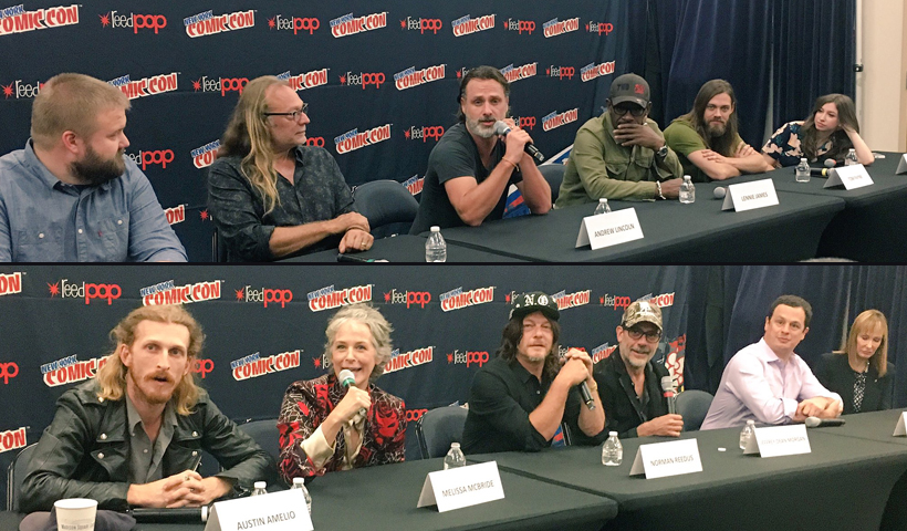 Resumo da coletiva de imprensa de The Walking Dead na New York Comic Con 2017