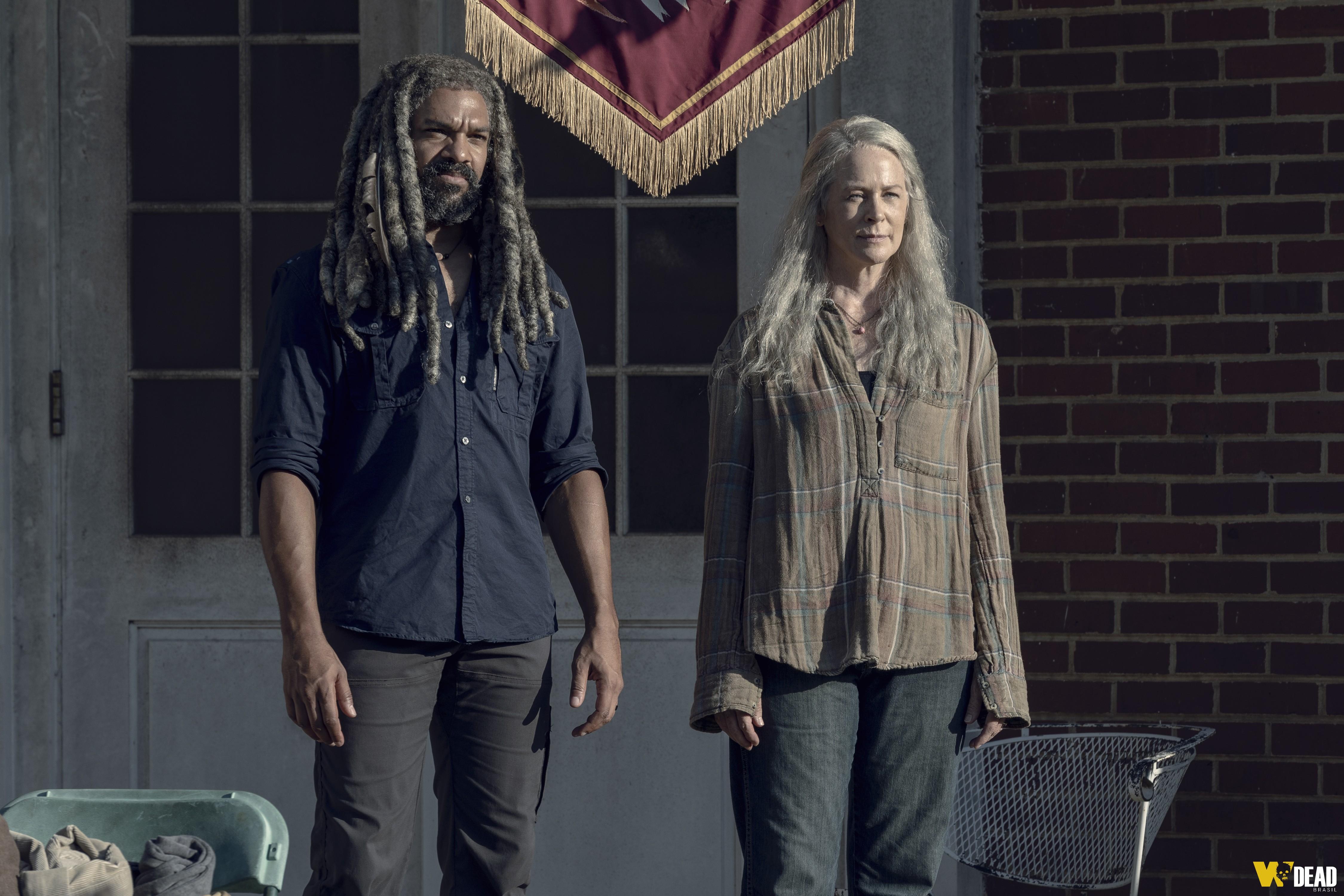 Carol e Ezekiel fizeram o contraste com o enredo principal do episódio Chokepoint