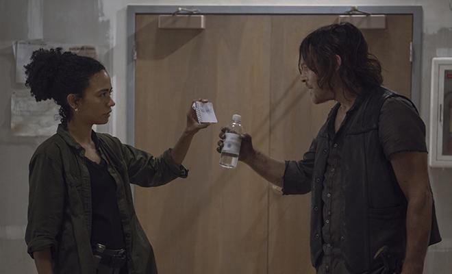 Audiência de Chokepoint: Connie e Daryl no episódio