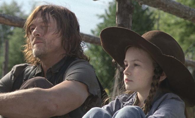 Daryl e Judith conversarão em Scars sobre Rick e o que ele faria com os Sussurradores.
