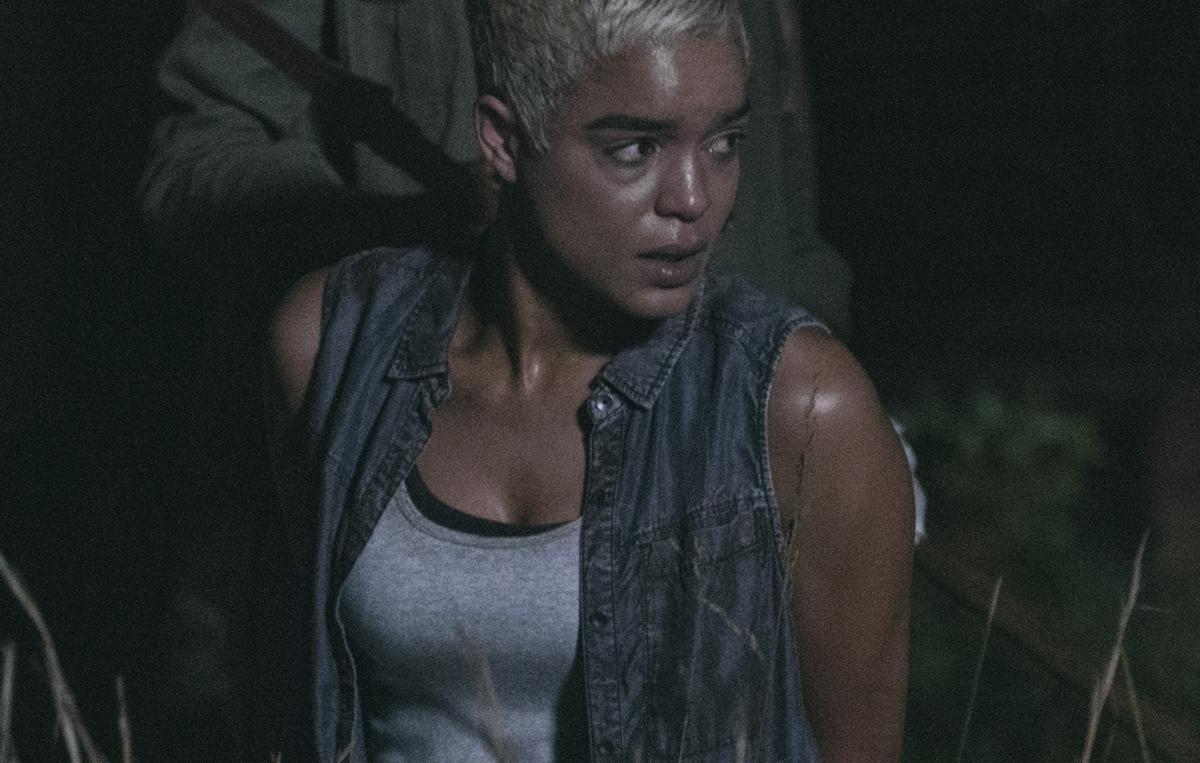 Mantenere la calma e nascondersi dietro DARYL DIXON Donna T Shirt Walking Dead Rick Grimes