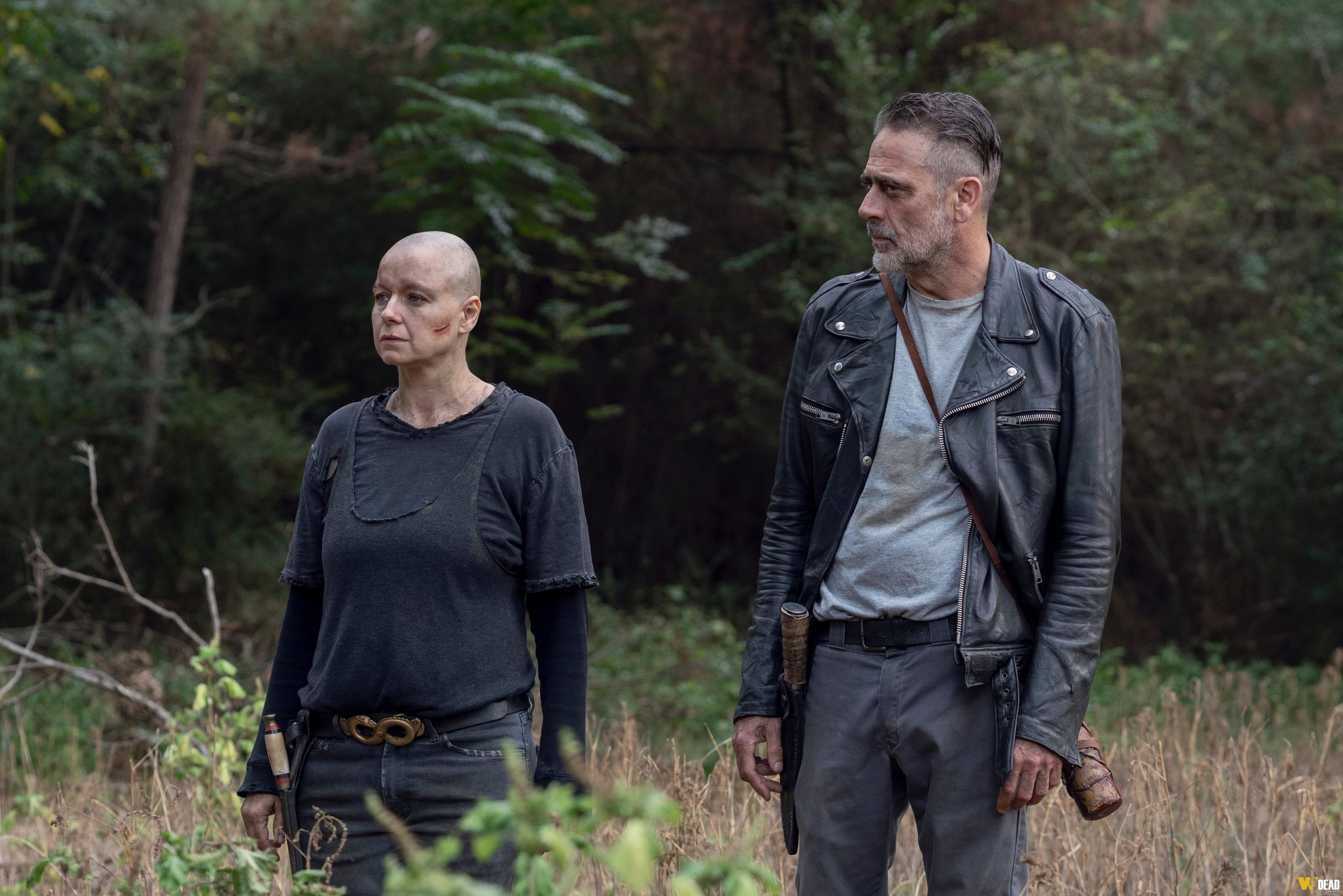 Alpha e Negan - The Walking Dead