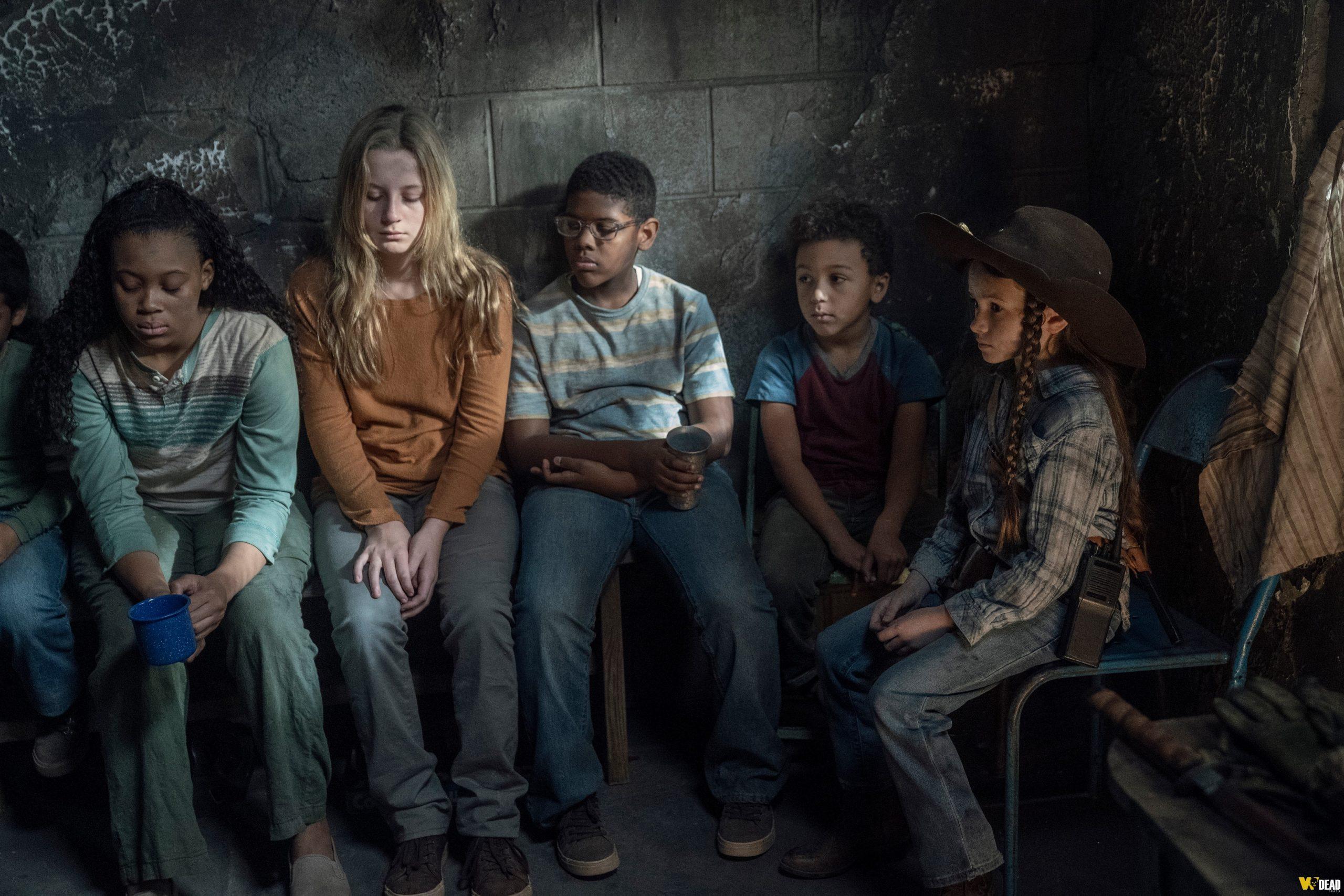 Judith e as crianças - The Walking Dead
