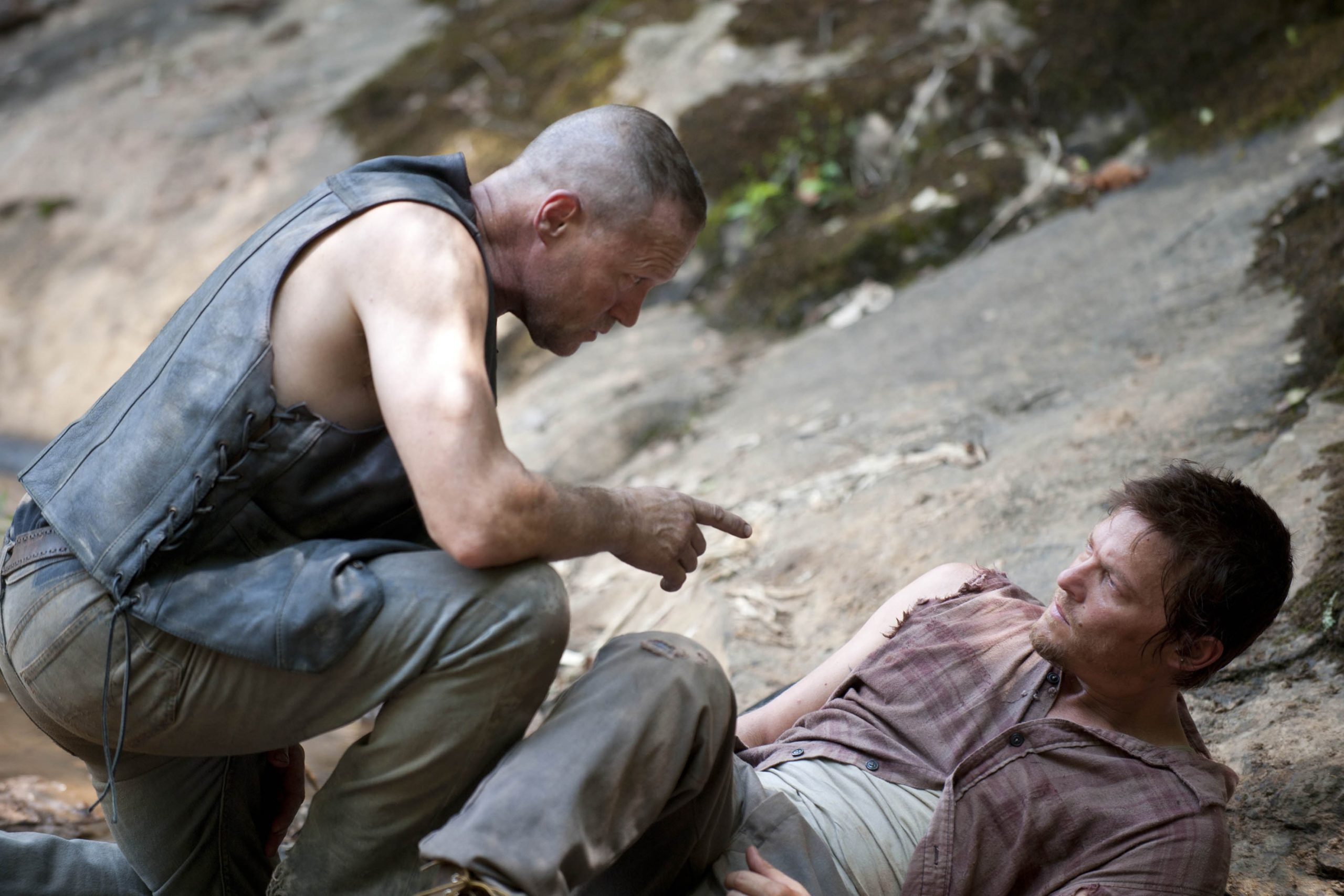 daryl e merle dixon na 2ª temporada de the walking dead