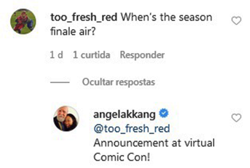 print do instagram da showrunner angela kang