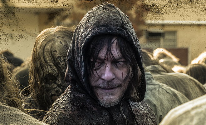 daryl dixon no último episódio da 10ª temporada de the walking dead