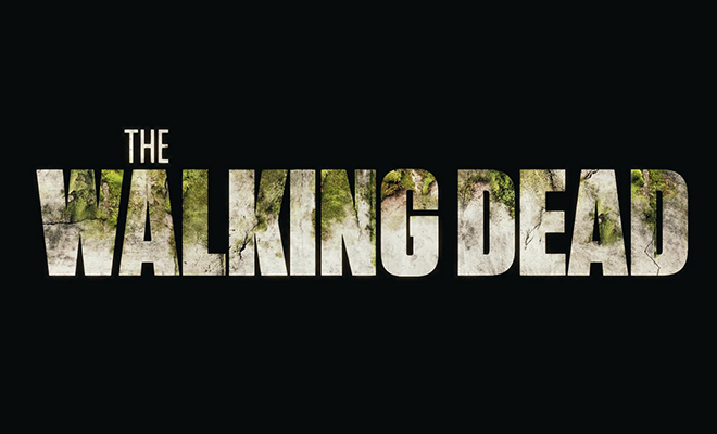 logo de the walking dead com plantas