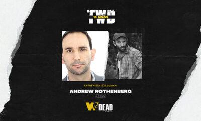 arte com Andrew Rothenberg e Jim para comemorar os 10 anos de The Walking Dead