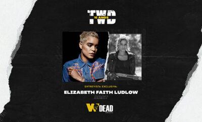 arte com Elizabeth Faith Ludlow e Arat para comemorar os 10 anos de The Walking Dead