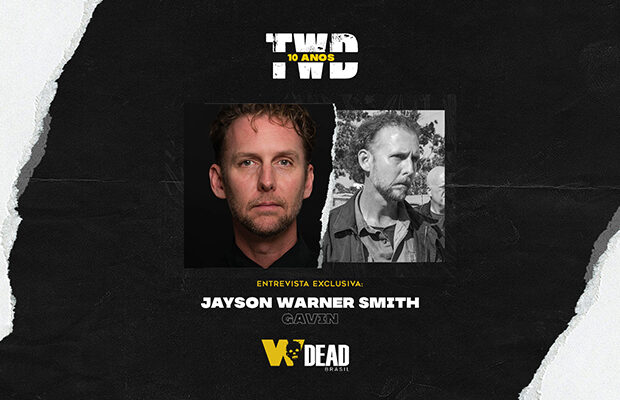 arte com Jayson Warner Smith e Gavin para comemorar os 10 anos de The Walking Dead