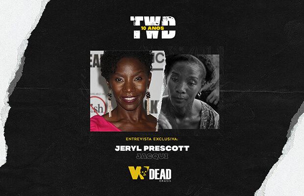 arte com Jeryl Prescott e Jacqui para comemorar os 10 anos de The Walking Dead
