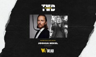 arte com Joshua Mikel e Jared para comemorar os 10 anos de The Walking Dead