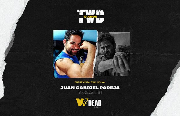 arte com Juan Gabriel Pareja e Morales para comemorar os 10 anos de The Walking Dead