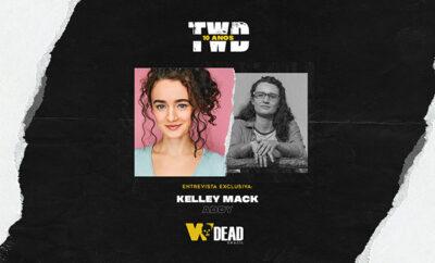 arte com Kelley Mack e Addy para comemorar os 10 anos de The Walking Dead