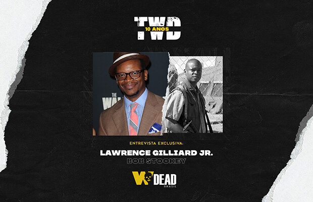 arte com Lawrence Gilliard Jr. e Bob Stookey para comemorar os 10 anos de The Walking Dead