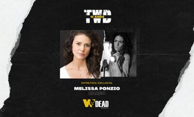 arte com Melissa Ponzio e Karen para comemorar os 10 anos de The Walking Dead